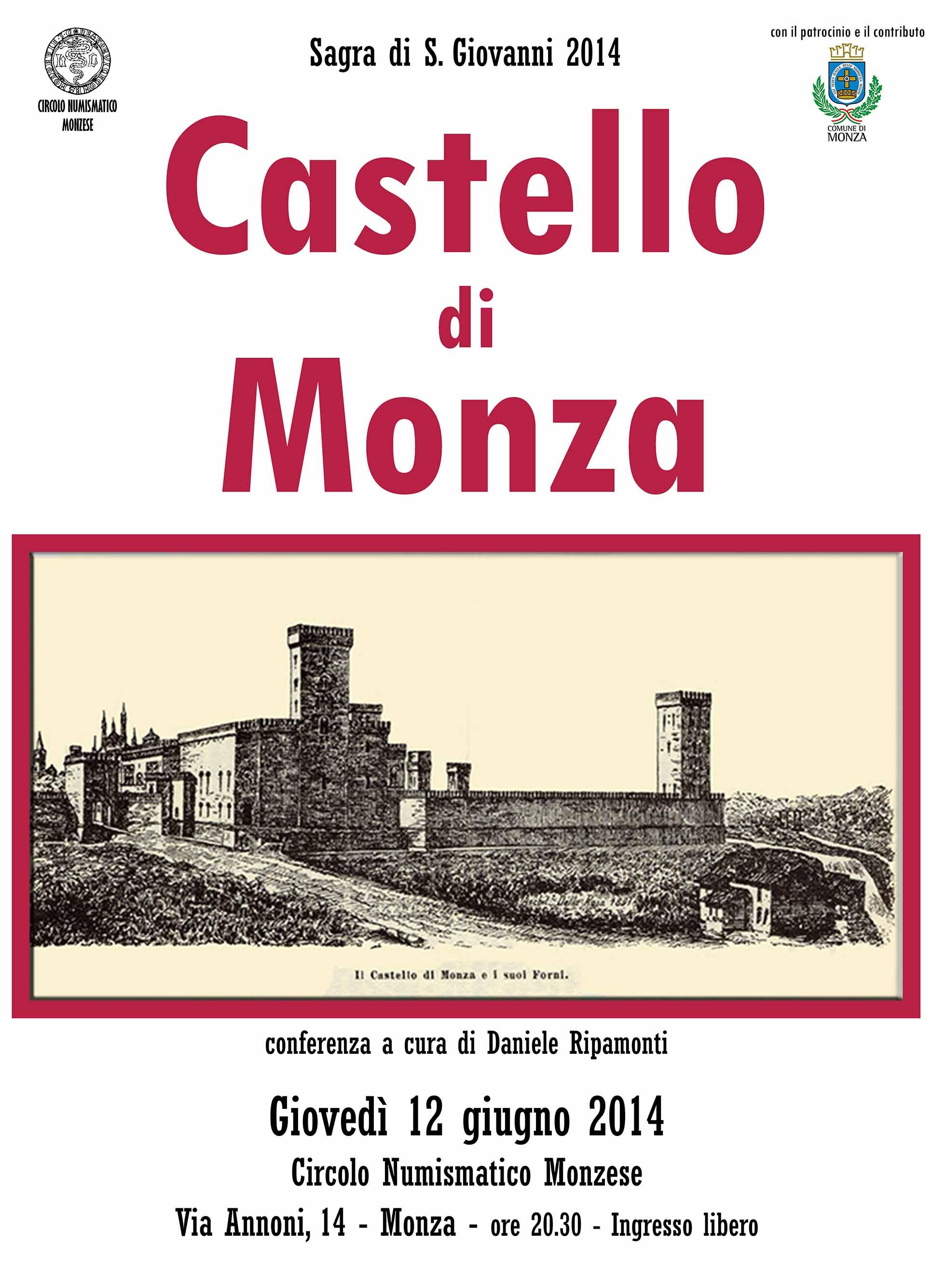 Circolo Numismatico  Monzese   Numismatico Il Castello di Monza Conferenza 7ec768